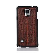 Mert Minta Case Hátlap Case Rajzfilmfigura Kemény Fa mert Samsung Note 4