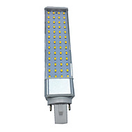 1pcs 10w 1000-1100lm e27 / g23 / g24 55led smd2835 warm wit / wit ac85-265v led bi-pin lichten