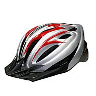 スポーツ 男女兼用 バイク ヘルメット 17 通気孔 サイクリング サイクリング マウンテンサイクリング ロードバイク レクリエーションサイクリング 登山 ハイキング PC EPS イエロー レッド ピンク ブルー