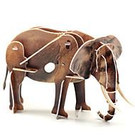 Palapelit 3D palapeli Rakennuspalikoita DIY lelut Elefantti 1 Uutuudet ja pilailutarvikkeet