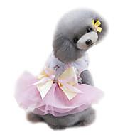 犬用品 ドレス タキシード 犬用ウェア 夏 プリンセス 結婚式 ファッション グリーン ピンク ライトブルー