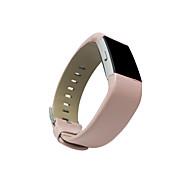 pinhen pasy skórzane dla Fitbit opłata 2 prawdziwej skórzany pasek zastępczej dla opłat sportu fitness tracker Fitbit 2