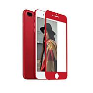 zxd Kina rød myk kant for iphone 7 pluss skjermbeskytter 3d full dekning herdet glass sømløs dekker antirefleks
