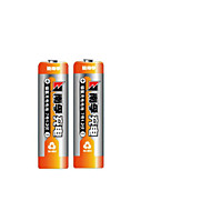 Nanfu (Nanfu) aaa 7 oplaadbare batterijen 900mAh Ni-MH 2 tabletten geladen