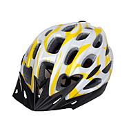 スポーツ 男女兼用 バイク ヘルメット 28 通気孔 サイクリング サイクリング マウンテンサイクリング ロードバイク レクリエーションサイクリング PC EPS イエロー レッド ブルー パープル