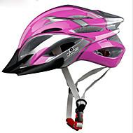 スポーツ 男女兼用 バイク ヘルメット 21 通気孔 サイクリング サイクリング マウンテンサイクリング ロードバイク レクリエーションサイクリング PC EPS イエロー レッド ブルー パープル