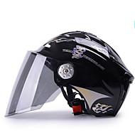 紅茶レンズと54〜61センチメートルためYEMA 310ヘルメット夏のABSアンチUVハーフヘルメット