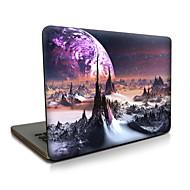 Para macbook air 11 13 / pro13 15 / pro con retina13 15 / macbook12 espacio exterior descrito apple laptop case