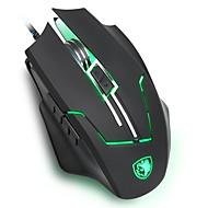 sades Q7 gaming mus med ergonomisk mus form lasersporing høyeste nivå 2400 dpi