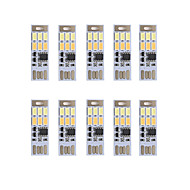 brelong mörkläggning usb 3W 6x5730 natten lätt beröring switch Touch Dual ljus färg (DC5V) 10st
