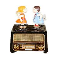 Music Box Music Classic & Timeless Plastic Rainbow