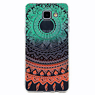 Mert Átlátszó Minta Case Hátlap Case Csipke dizájn Puha TPU mert Samsung A3 (2017) A5 (2017) A7 (2017) A5(2016) A3(2016)