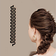 1Pcs New Roller Hair Styling Tools Weave Braid Hair Braider Tool Hair Styling Magic Twist Bun Maker Hair Roller Accessories