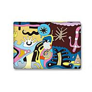 1 db Karcolásvédő Rajzfilmfigura Átlátszó szintetikus Matrica Sötétben világító Minta MertMacBook Pro 15'' with Retina MacBook Pro 15 ''