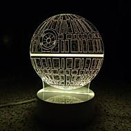 3D文字/数字は、家族のために子供の部屋の装飾ランプリモコンのUSBライトのランプ発光夜景を主導しました