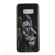Mert IMD Minta Case Hátlap Case Állat Puha TPU mert Samsung S8 S8 Plus S7 edge S7 S6 edge S6