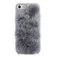 Mert Strassz DIY Case Hátlap Case Egyszínű Kemény Textil mert Apple iPhone 7 Plus iPhone 7 iPhone 6s Plus/6 Plus iPhone 6s/6