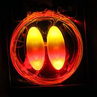 night kör flash LED-lampor trend glödande blinkande fluorescerande lysande batteri skosnöre kreativa barn födelsedagspresenter