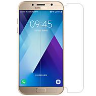 przez Galaxy A7 (2017) nillkin h opakowania folii przeciwwybuchowe szkła odpowiedniego