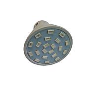 1.5W GU10 GU5.3(MR16) E27 Lampy szklarniowe LED MR16 21 SMD 5733 250 lm Czerwony Niebieski AC110 AC220 V 1 sztuka