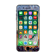 1 stk Ridsnings-Sikker Olie Maleri Transparent plastik Klistermærke Selvlysende Mønster ForiPhone 7 Plus iPhone 7 iPhone 6s Plus/6 Plus
