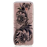 Mert tokok Átlátszó Minta Hátlap Case Csipke dizájn Virág Puha TPU mert Samsung S8 S8 Plus S7 edge S7 S6 edge S6 S5