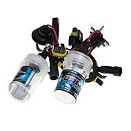 sencart auton HID Xenon ajovalot polttimot lamput H1 / H3 / H7 / H8 / H9 / H11 / 9005 4300K 6000K 8000K Timantinvalkoinen 55w
