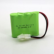 Ni-mh batteri aa 1800mah 4,8v