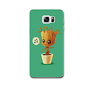 For Case Cover Ultra Thin Pattern Back Cover Case Tree Soft TPU for Samsung Note 5 Note 4 Note 3