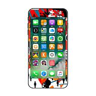 1 τμχ Προστασία από Γρατζουνιές Κινούμενα σχέδια Πλαστικές διάφανες Αυτοκόλλητο Φωσφορίζει στο Σκοτάδι Μοτίβο ΓιαiPhone 7 Plus iPhone 7