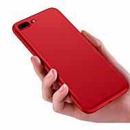 Varten kotelot kuoret Himmeä Takakuori Etui Yksivärinen Pehmeä Silikoni varten AppleiPhone 7 Plus iPhone 7 iPhone 6s Plus iPhone 6 Plus