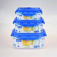 3 Kuhinja Plastika Kutije za užinu