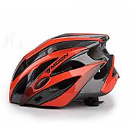 MOON Unisex Bicicleta Casco 25 Ventoleras Ciclismo Ciclismo de Montaña Ciclismo de Pista Ciclismo L: 58-61CM M: 55-58CM PC EPS