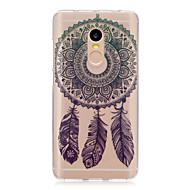 Til xiaomi redmi note 4 note 3 3s case cover dream catcher mønster bagcover soft tpu redmi note