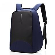 15,6 tommer bærbar syning forretning vandtæt nylon klud med usb opladning port notesbog taske rygsæk til dell / hp / lenovo / sony / acer
