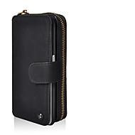 Cornmi voor ssmsung s8 s8 plus gevallen cover flip pu lederen portemonnee handtas zakje met spiegel slot kaart houder achterkant deksel