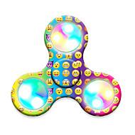 Fidget Spinner Hand Spinner Toys Tri-Spinner LED Spinner Plastic EDCLED light Stress and Anxiety Relief Office Desk Toys for Killing Time