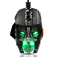 Wired RGB LED Backlit Breath 4000DPI  8 Buttons Gaming Mouse Mice Metal USB Ergonomic Optical Gamer Mouse Laptop Computer