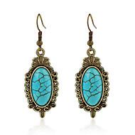 Øreringe sæt Turkis Mode Yndig minimalistisk stil Legering Smykker For Bryllup Fest Fødselsdag 1 par