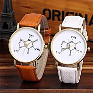 Damskie Modny Zegarek na nadgarstek Unikalne Kreatywne Watch Na codzień Chiński Kwarcowy / Kolorowy Skóra PasmoBłyszczące Nowoczesne Na