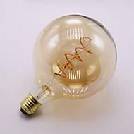 1pcs Dimmable G125 4W E27 Soft LED Filament Bulbs Vintage Edison Flexible Filament LED Bulb for Bar Home Decorate AC220-240V