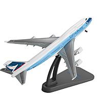 Pojazd nakręcany od tyłu Model / klocki Samolot Tworzywo sztuczne