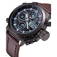 ASJ Herre Sportsur Digital Watch Japansk LCD Fjernbetjening Kalender Kronograf Vandafvisende Dobbelte Tidszoner Selvlysende StopurDigital