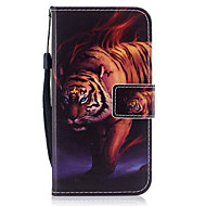 For Case Cover Wallet Card Holder with Stand Flip Pattern Magnetic Full Body Case Animal Hard PU Leather for SamsungJ7 (2016) J5 (2016)