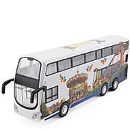 Vehicul cu Tragere Autobuz Metal