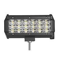 54W-sor 5400lm árvíz helyszínen del fascio vezetett munka fénysáv offroad LED-vezérlő lampada 12 V 24 V per kamion SUV atv 4x4 4wd