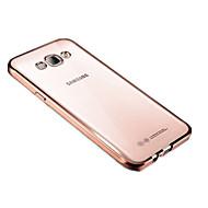 Samsung Galaxy J7 / j5 (2017) tok borítás átlátszó hátlapot esetben egyszínű puha TPU j3 2017 J7 / j5 / j3 (2016) J7 / j5 / j2 prime