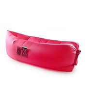 Opgeblazen Mat Kamperen Strand Vissen Reizen Voor buiten Voor Binnen Geel Groen Rood Roze Zwart Blauw Paars NylonCompressie Vouwbaar