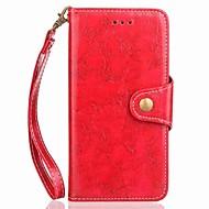 A Xiaomi redmi veszi tudomásul 4 4x esetben kártya tartó pénztárca csuklópánttal fordítsa mágneses esetben egyszínű pu bőr Xiaomi redmi 4
