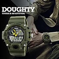 Heren Dames Sporthorloge Dress horloge Slim horloge Modieus horloge Polshorloge Unieke creatieve horloge Chinees DigitaalLCD Rekenliniaal